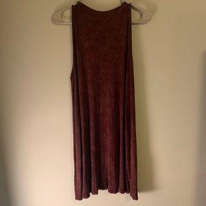 Tres bien | NWOT Burgundy Swing Dress
